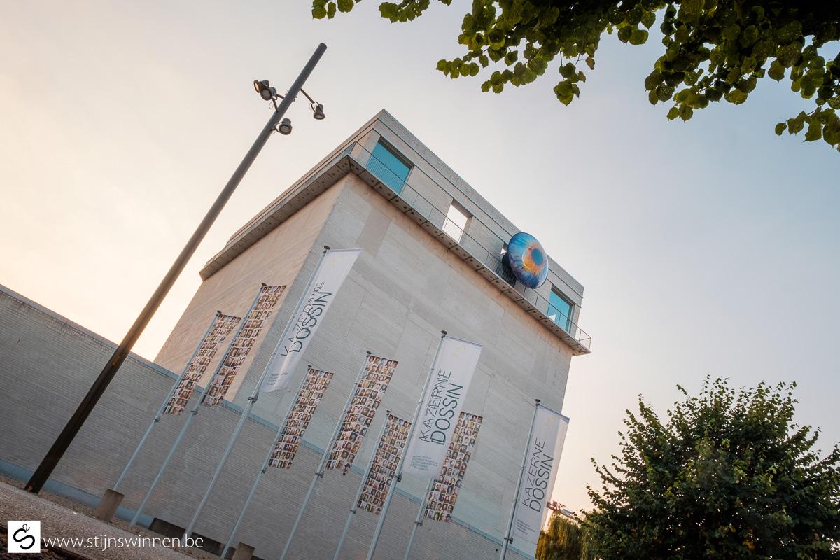 Installatie OOG voor Op Recht Mechelen aan de Dossin Kazerne