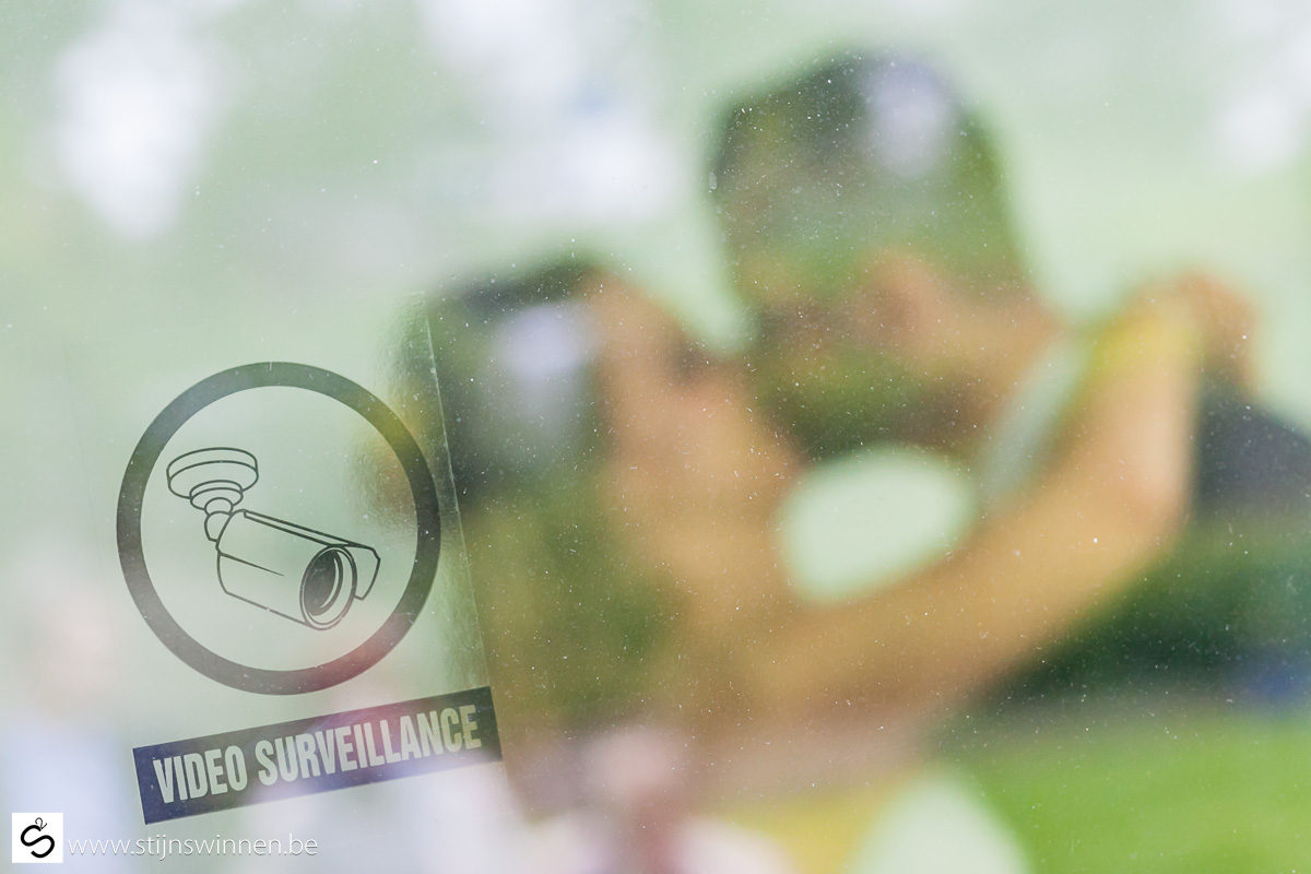 kussen onder camera bewaking
